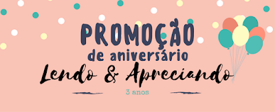 "Promoção de aniversário do ""Lendo & Apreciando"""
