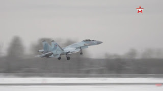 Jet Tempur Su-35S Rusia Terbaru