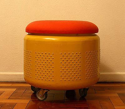 Ideias de como reciclar peças de máquina de lavar velha