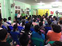 เซ็นสัญญาคนงานพม่าจำนวน 119 คน