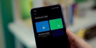 Refresh Rate Poco X3 NFC