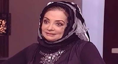 جدل مواقع التواصل, ظهور الفنانة بالحجاب, عزاء هيثم احمد زكى,