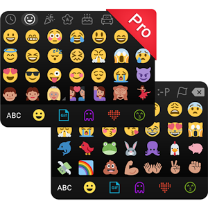 Kika Emoji Keyboard Pro + GIFs Latest Version