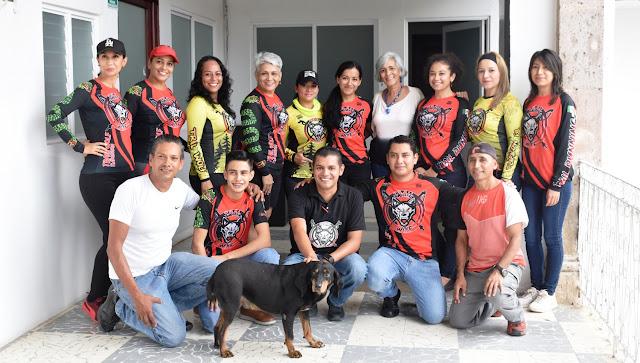 """La alcaldesa Ofelia Jarillo tuvo grata visita de los organizadores  de """"Trail del muerto""""  evento a realizarse en el mes de Noviembre"""