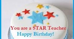 Birthday Cake Wordings Ideas Teachers