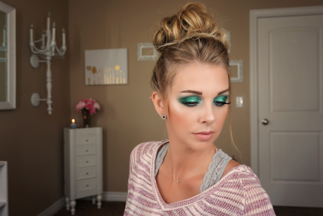 Jaclyn Hill x Morphe Palette Mermaid look justmelsdotcom