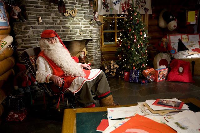 Santa Claus Office (văn phòng của ông già Noel)