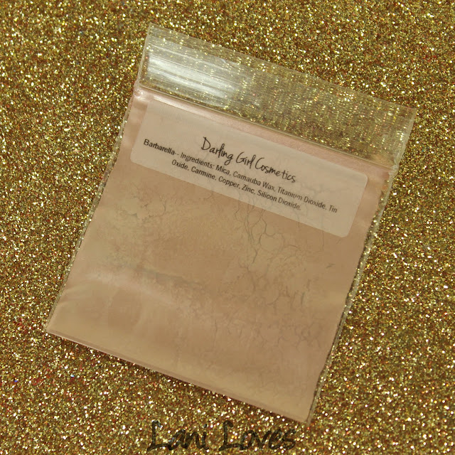 Darling Girl Cosmetics Eyeshadow - Barbarella Swatches & Review