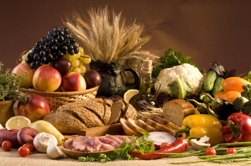 Расходы на продукты питания
