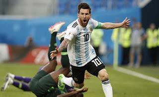 Video Argentina - Nigeria: Cứu tinh bất ngờ, vỡ òa bàn thắng phút 86