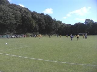 FA Cup tie at Oughtibridge War Memorial Sports Ground