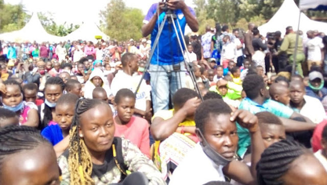 No Coronavirus rules followed as fans flocked the late Belden Nyabuto burial in Kisii