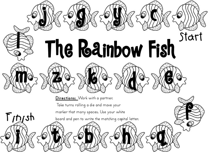 First Grade Fanatic!: The Rainbow Fish