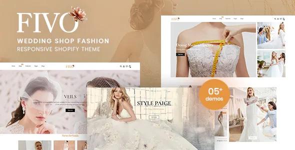 Best Wedding Shop Fashion Responsive Shopify Theme
