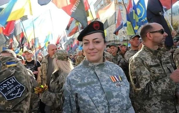 У Києві заарештували жінку-ветерана АТО