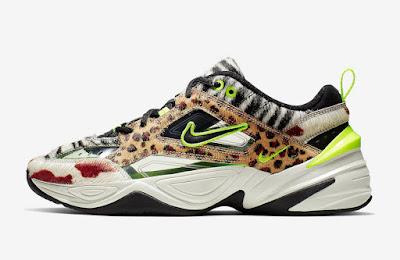 """official photos 7b598 44cde ... delle Nike M2K Tekno """"Animal Print"""", scarpa che unisce una delle stampe  più famose del brand di Beaverton a una delle """"Dad Shoes"""" protagoniste del  2018."""