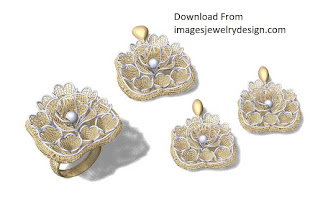 Images of gold pendant set designs