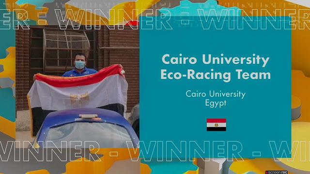 """فوز """"هندسة القاهرة"""" بالمركزين الأول والثاني بمسابقة شيل العالمية.. صور"""
