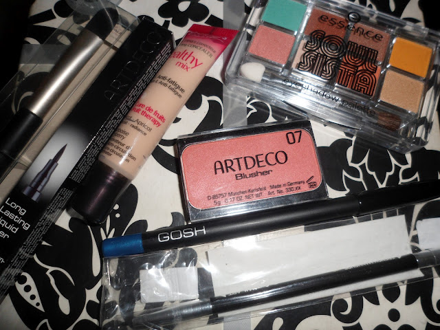 Makeup haul: bourjois, essence, gosh, mavala, rimmel and artdeco