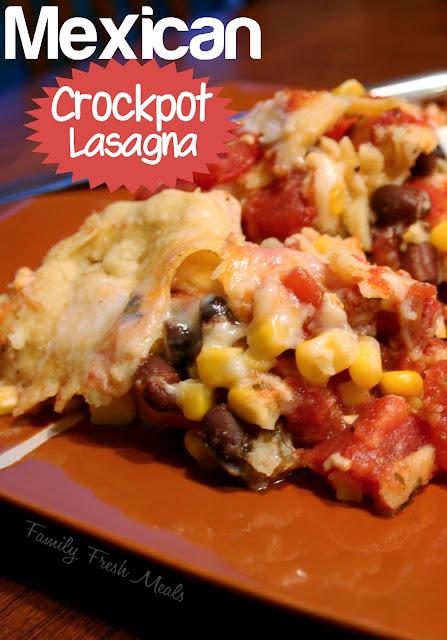 Mexican Crockpot Lasagna