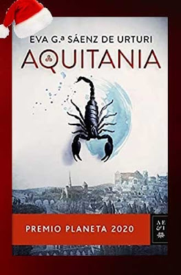 Aquitania con un escorpion