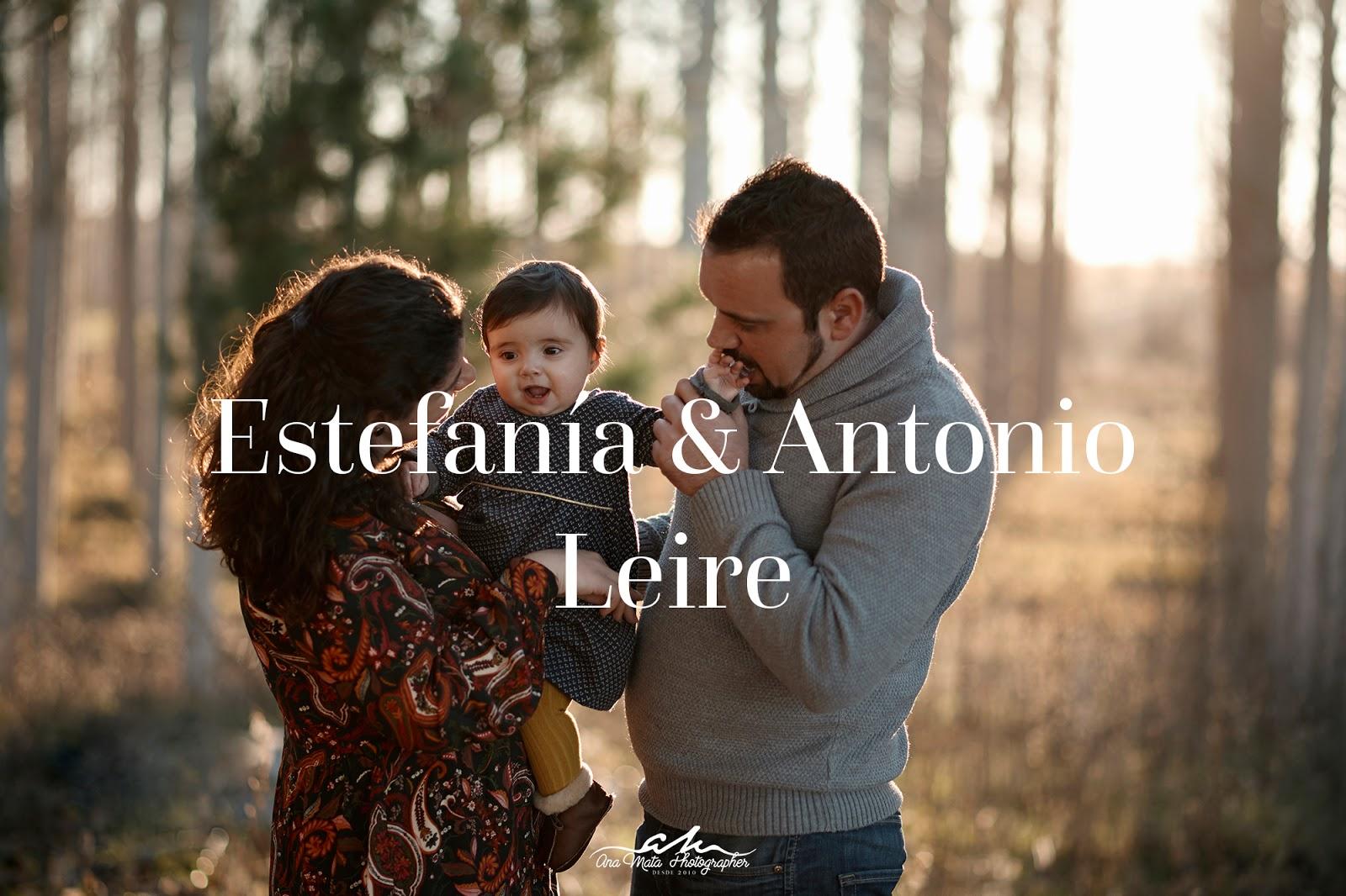 Estefanía & Antonio, Leire. Diciembre 2018