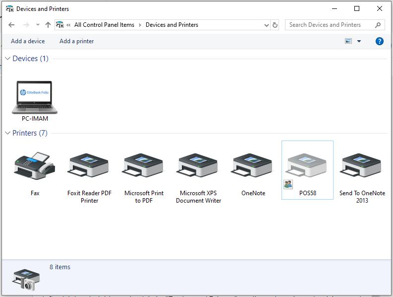 Tutorial Instal Printer Thermal di Windows (Panda PRJ-58D)