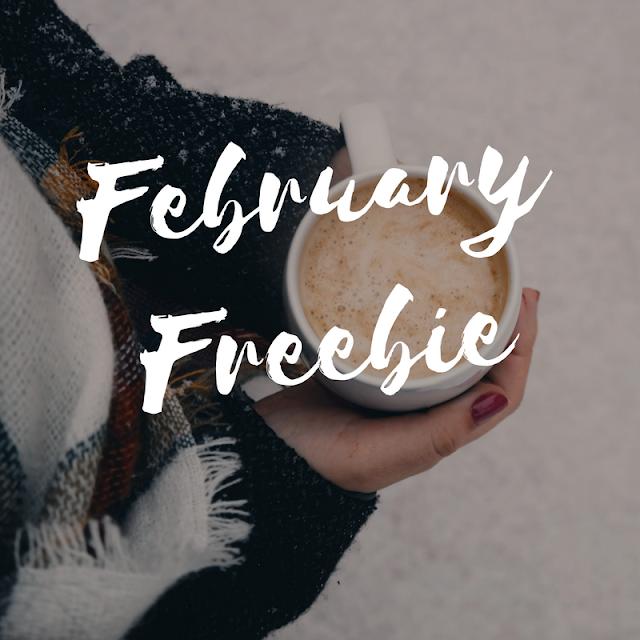 February freebie banner