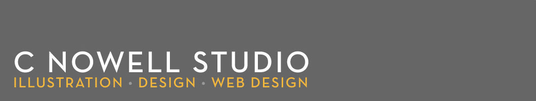 C Nowell Studio<br><small>Illustration • Design • Web Design</small>