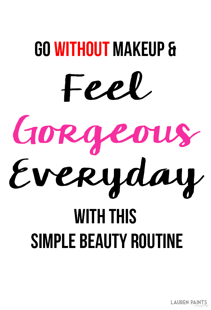 Feeling gorgeous doesn't have to involve tons of makeup... Check out how you can get a beauty queen look in mere minutes with this simple beauty routine!