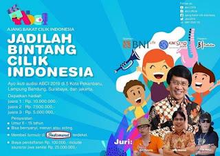 syarat audisi casting bakat cilik indonesia bintang cilik indonesia 2019