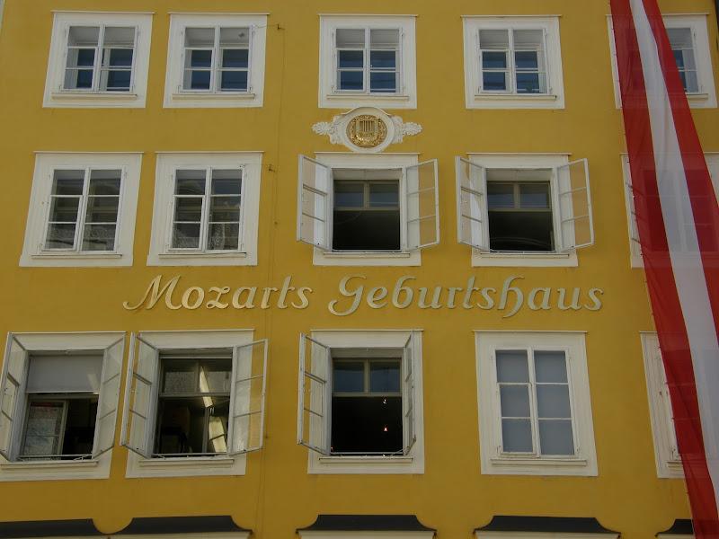 Salzburg - Dom Mozarta