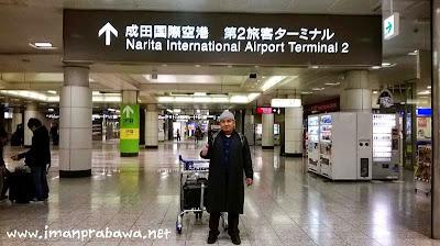 Di Narita Tokyo