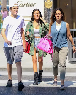 Madison Beer Mother & Brother