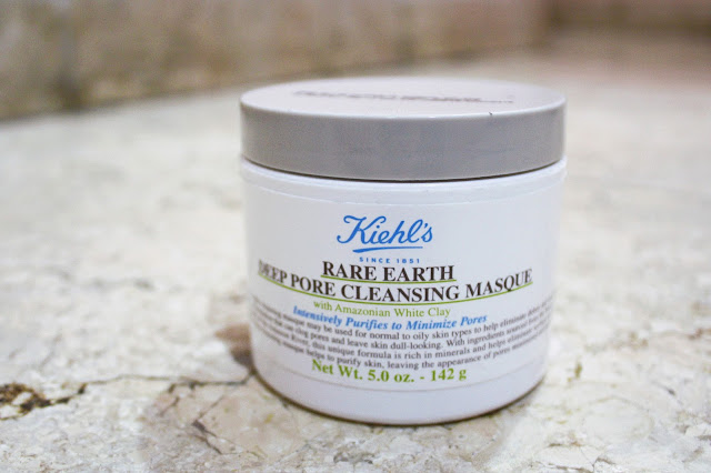 Review Mặt nạ đất sét Kiehl's Rare Earth Deep Pore Cleansing Masque , mặt nạ, mặt nạ đất sét, kiehl's, kienl's rare earth deep pore cleansing masque
