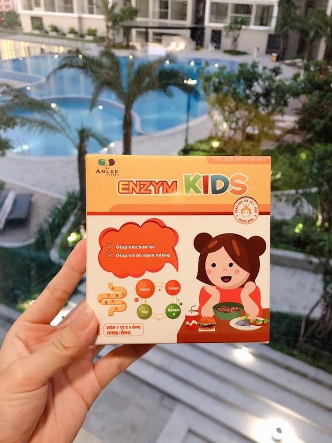 Enzym Kids – Giải pháp biếng ăn, giúp bé tăng cân