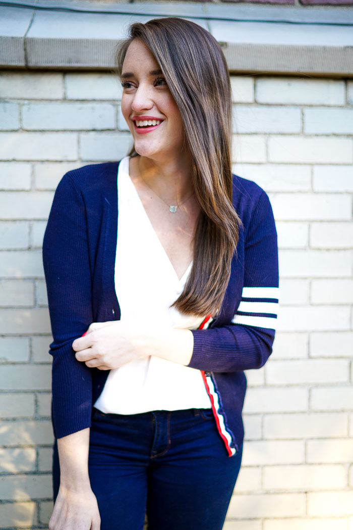 Krista Robertson, Covering the Bases, Travel Blog, NYC Blog, New York & Company, Preppy Blog, Fashion Blog, Travel, Fashion Blogger, Preppy Style,Goodnight Macaroon, Goodnight Macaroon 50% Off Flash Sale, Sweaters for Fall