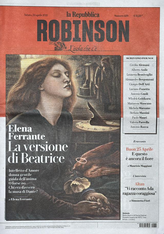 Elena Ferrante e Beatrice