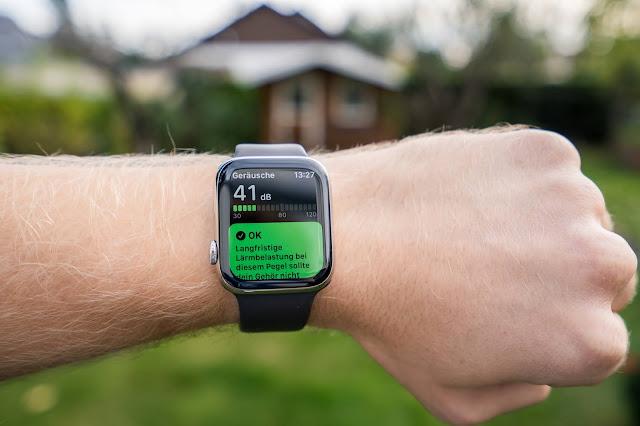 Apple Watch Series 6 Laufen Running Geräusche