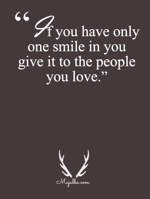 Give Til The Last Smile