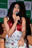 Bollywood Actress Adah Sharma Pos in White Printed Short Dress at OPPO F3 Plus Selfie Expert Mobile Launch .COM 0049.jpg