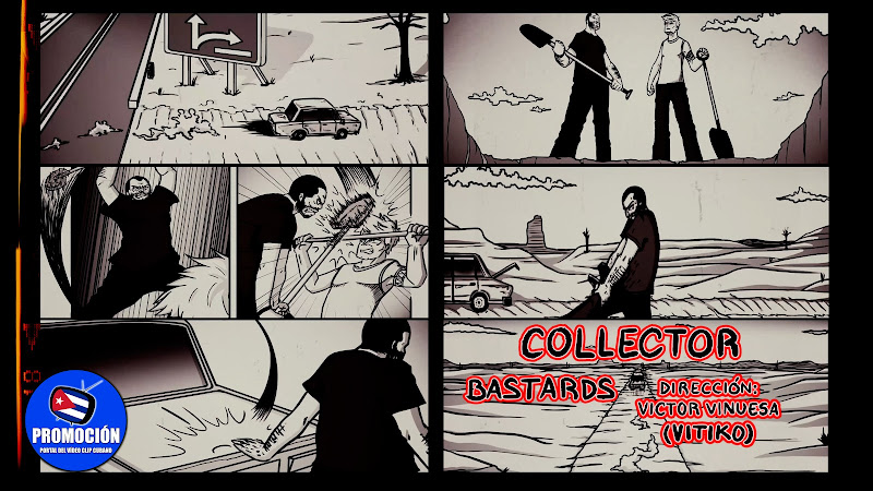 COLLECTOR - ¨Bastards¨ - Videoclip - Director: Víctor Vinuesa (Vitiko). Portal Del Vídeo Clip Cubano. Música cubana. Rock. Cuba.