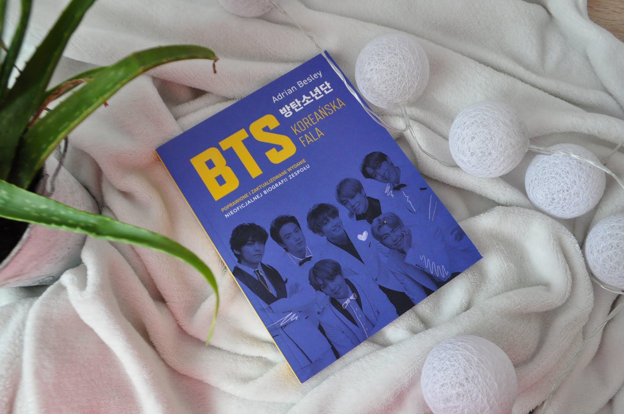 """""""BTS Koreańska fala. Poprawione i zaktualizowane wydanie nieoficjalnej biografii zespołu"""" - Adrian Besley RECENZJA 📖"""