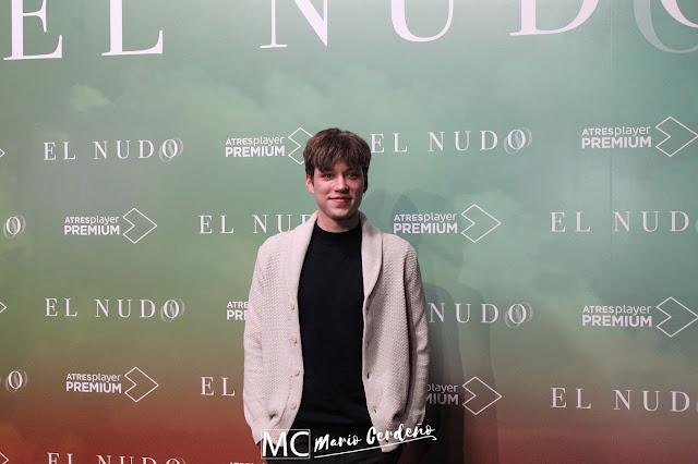 Javier Ruesga en la presentación 'El Nudo'