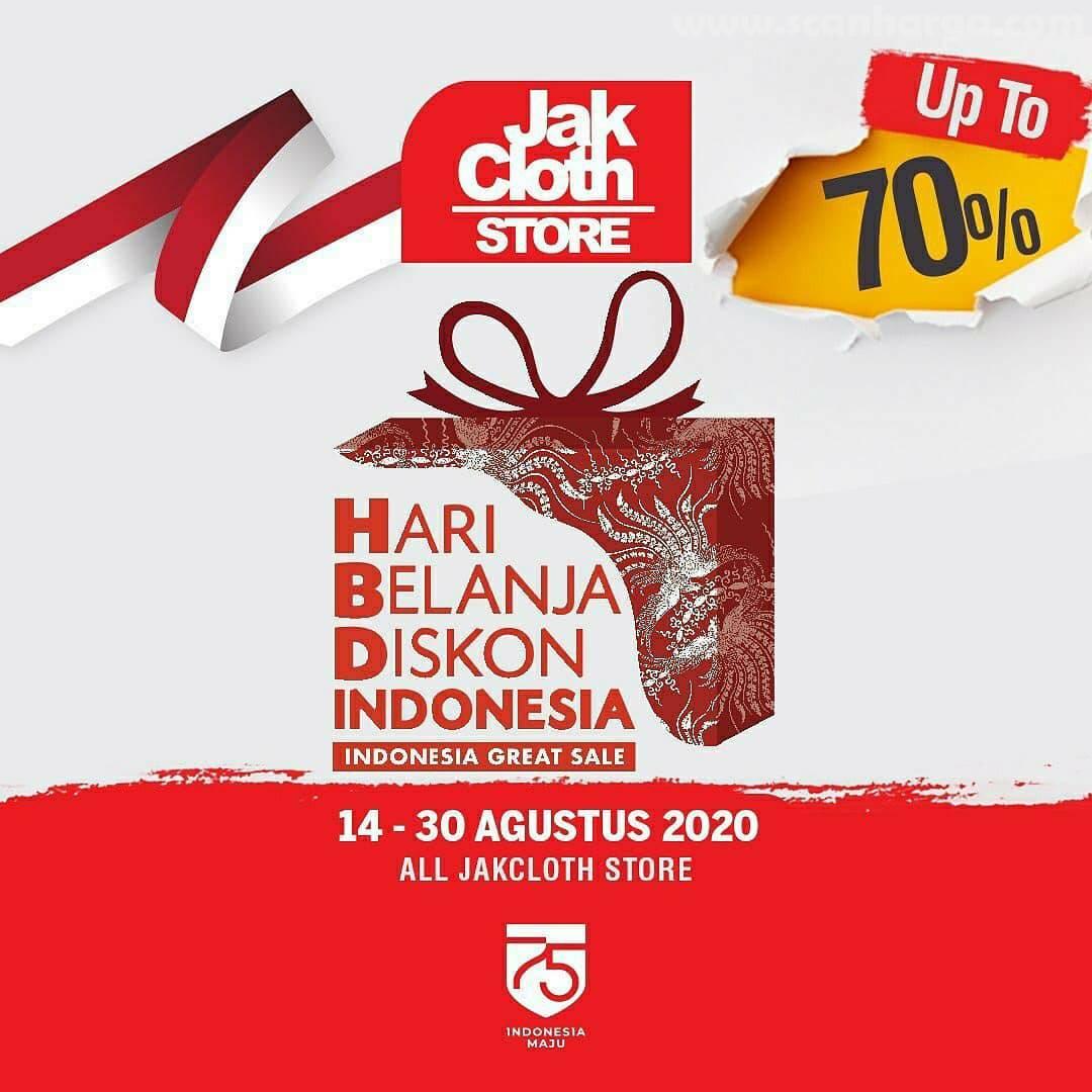 Promo Jakcloth Hari Belanja Diskon Indonesia