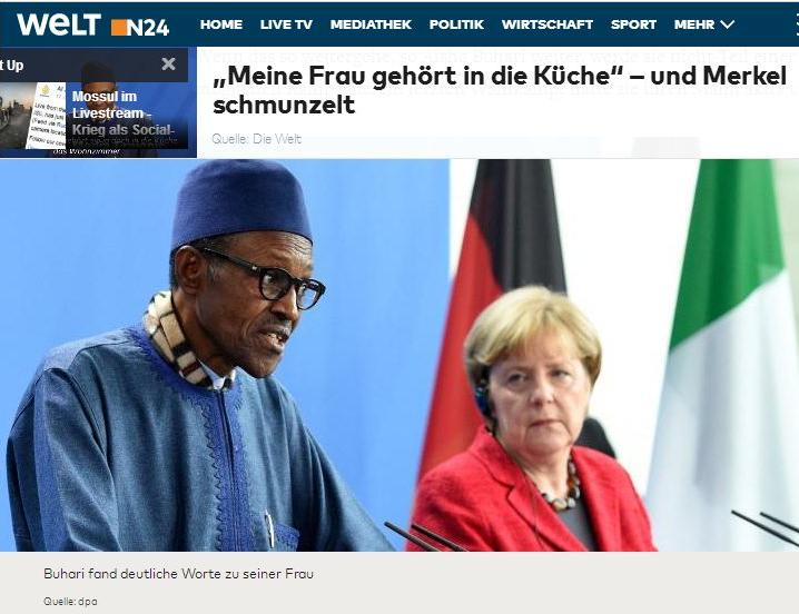 Luzifer-Lux: Frau gehört in die Küche - Merkel lacht...