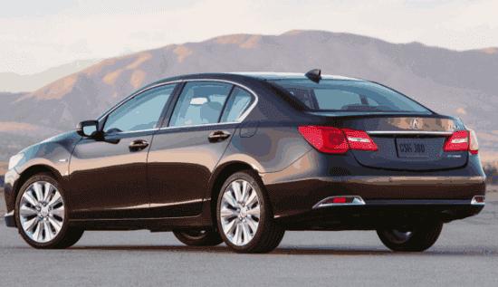 Acura RLX Hybrid 2019 Exterior Design
