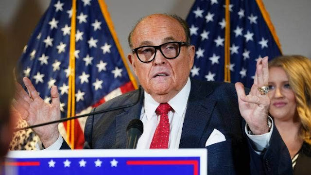 President Trump's counsel, Rudy Giuliani, tests positive for Covid-19