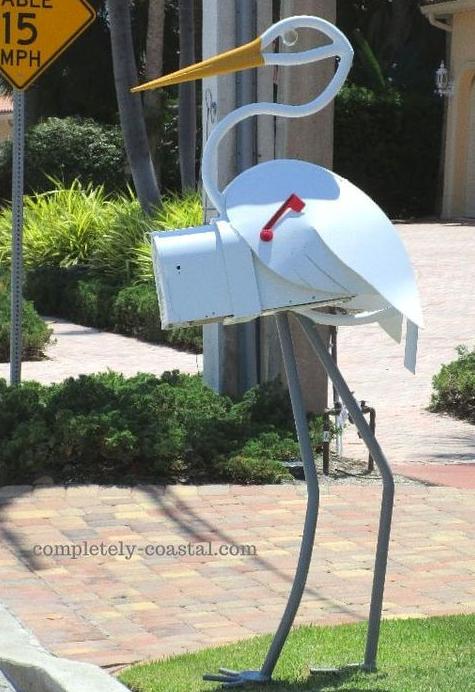 Egret Mailbox