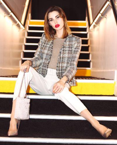 Mathilde Danielle au nhow Marseille pour la marque de prêt-à-porter Brandy Paris Officiel